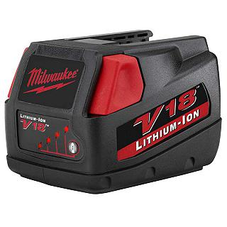 BATTERIA MILWAUKEE MV18 BX 3. AH