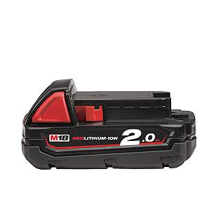 BATTERIA 18V 2,0AH MILWAUKEE M18B2