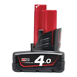 BATTERIA MILWAUKEE M12 B4 12V 4AH