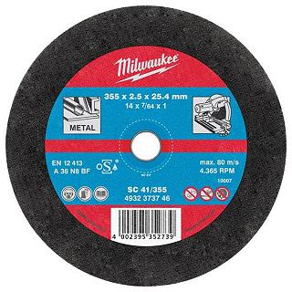 MOLA DA TAGLIO SCS41D MILWAUKEE 115X1 mm