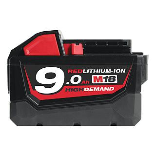 BATTERIA  M 18  B9  18 V  MILWAUKEE