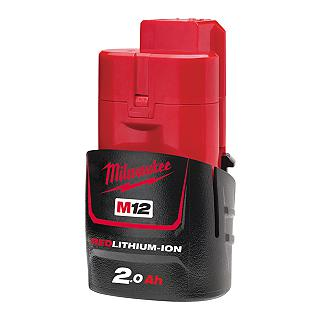 BATTERIA MILWAUKEEM12 B2 12V 2AH LITIO