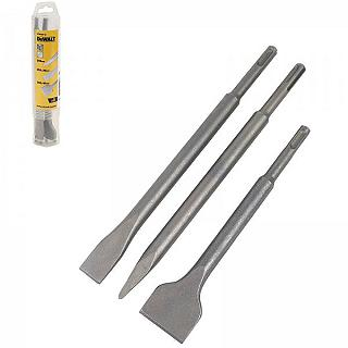 SET 3 SCALPELLI SDS DEWALT DT60330