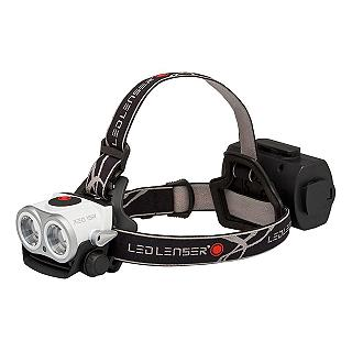 TORCIA FRONTALE LED LENSER XEO19R  COLORE NERO