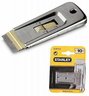 RASCHIETTO PER DECORATORI STANLEY 0-28-500 + LAME