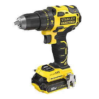 TRAPANO AVVITATORE A PERCUSSIONE BRUSHLESS 18V STANLEY FMC627D2